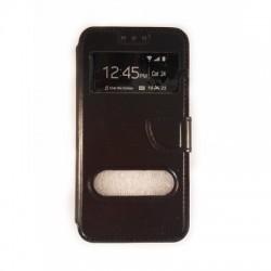 Book Case Stand Double Window Για Samsung I8190 Galaxy S3 Mini