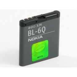 Battery Nokia BL-6Q Li-Ion 3.7V 970mAh Original Bulk