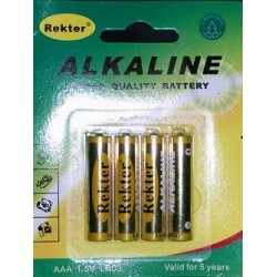 OEM Batteries AAA  (4 Pcs)