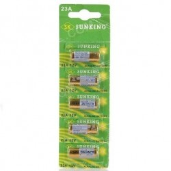 Batteries Alkaline 23A 12V Set 5 Pcs