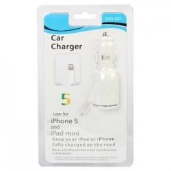 Φορτιστης Αυτοκινητου iPhone 5 Blister (EKA-Q21)