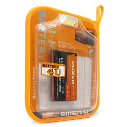 Moxom Battery For Nokia E66/E75 Li-Ion 3.7V 1100 mAh Blister (BL-4U)