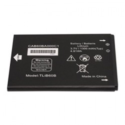 Battery Alcatel TLiB60B Li-Ion 3.7V 1400mAh Original