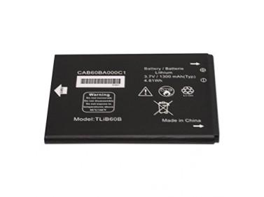 Battery Alcatel TLiB60B Li-Ion 3.7V 1400mAh Original