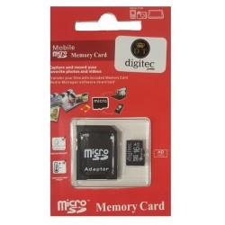 OEM Κάρτα μνήμης Micro SD 16GB Class 10 Με Ανταπτορα Blister