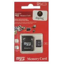 OEM Memory Card Micro SD 16GB Class 10 With Adapter Blister