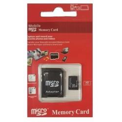OEM Κάρτα μνήμης Micro SD 64GB Class 10 Με Ανταπτορα Blister