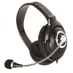OEM Overear Headphones Με Μικροφωνο Για Υπολογιστή
