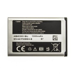 Battery Samsung AB463651BU Li-Ion 3.7V 1000 mAh Original