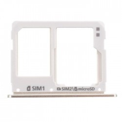 SIM Card Holder Dual SIM Micro SD Card Tray Slot For Samsung Galaxy  A310 /A510/ A710