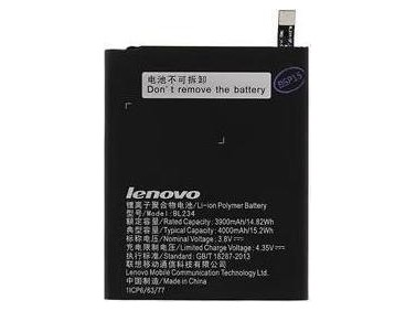 Battery Lenovo BL234 Li-Ion 3.7V 4000mAh Original
