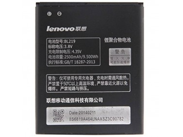 Battery BL219 for Lenovo A768t/ A850/A889/A916/ S856 2500mAh Li-Pol