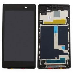 Οθόνη LCD με πλαίσιο (with frame) για Sony Xperia Z1