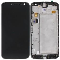 Οθόνη LCD με Frame (πλαίσιο οθόνης) για Motorola MOTO G4 XT1622