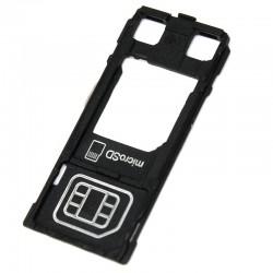 Βάση κάρτας SIM και SD για Sony Xperia X