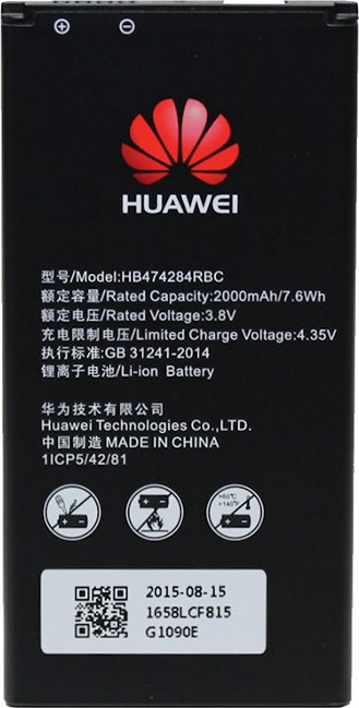 Battery Huawei HB474284RBC Li-Polymer 3 8V 2000mAh Original