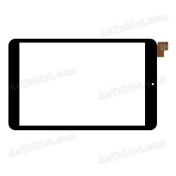 Touch Digitizer compatible with Estar Gemini IPS και Turbo-Χ Coral II pb80jg2483 HC205119B1