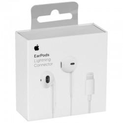 Handsfree APPLE EarPods Lightning Καλώδιο με Μικρόφωνο MMTN2