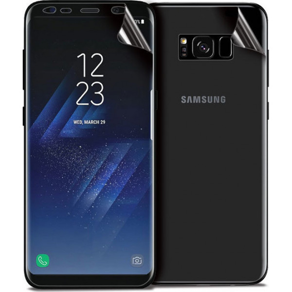 OEM Προστατευτική Μεμβράνη 360° 0.2MM Full Cover Για Samsung G925F Galaxy S6 Edge Clear Front/Back