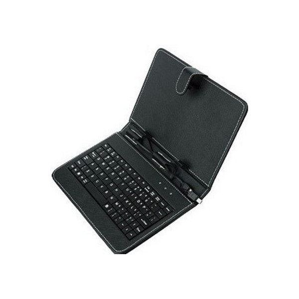Universal Book Case Stand With Keyboard For Tablet
