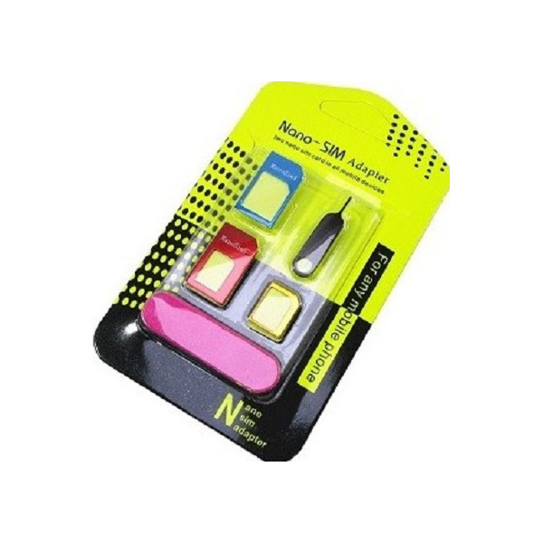 SET Noosy Nano SIM Adapter + SIM Removing