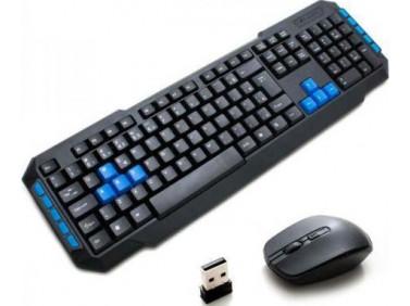 WEIBO Wireless Waterproof Keyboard & Mouse Model:WB-8099 Blister