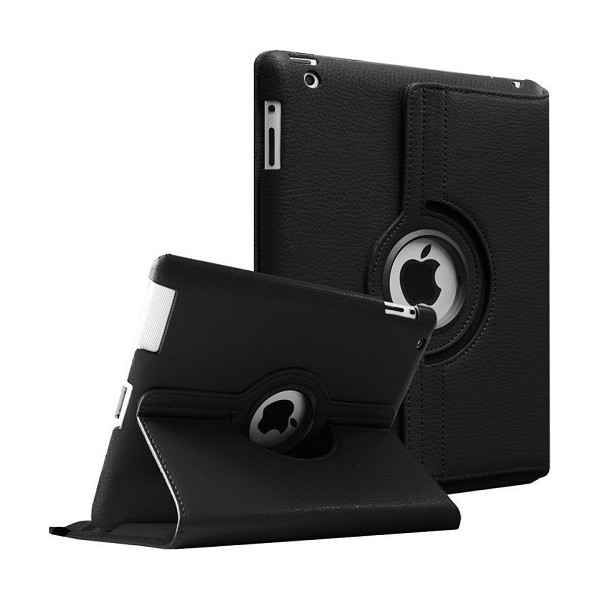 Leather Case Stand (360 degree rotating) for iPad