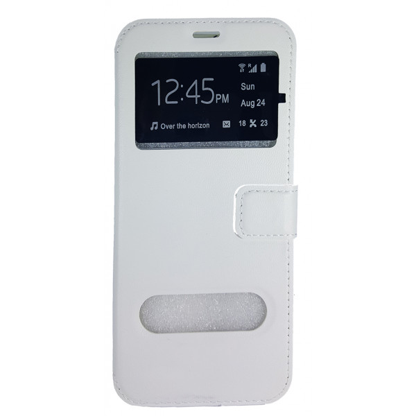 Book Case Stand Double Window For HTC Desire 820