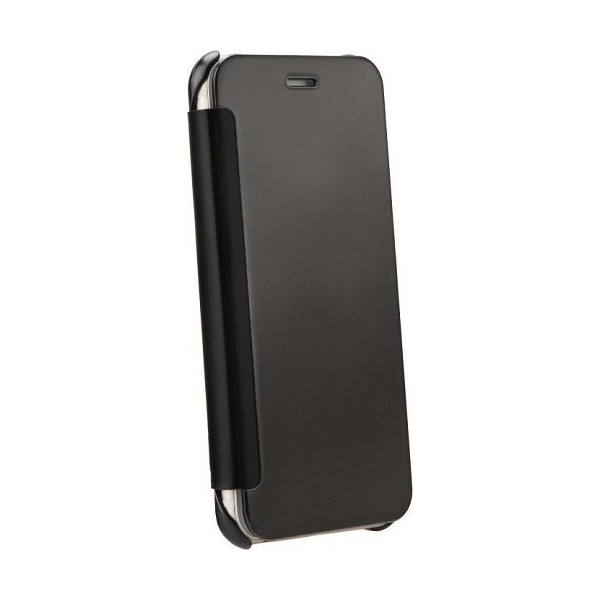 OEM Flip Wallet Case Clear View Για Samsung J300F Galaxy J3 / J320 Galaxy J3 (2016) Blister
