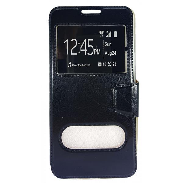 Book Case Stand Double Window Για Samsung A900 Galaxy A9