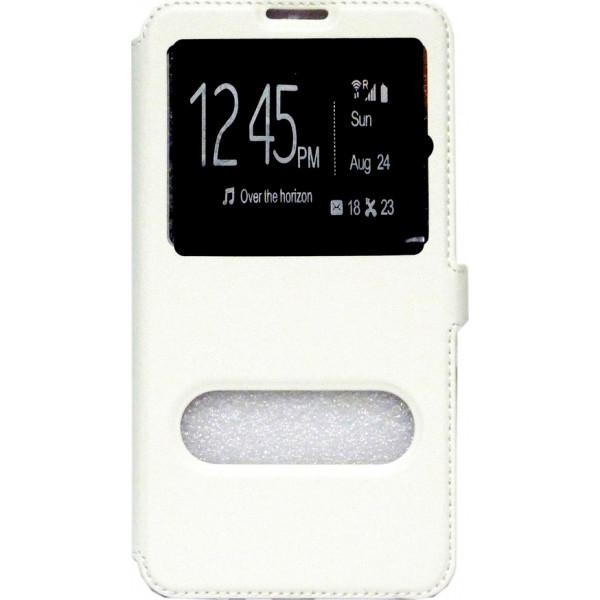 Book Case Double Window Για Iphone 4/4S