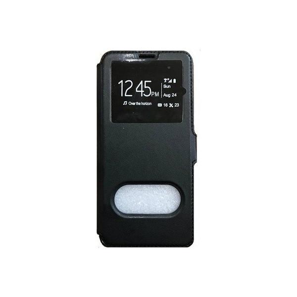 Book Case Stand Double Window Για Sony E2003 Xperia E4G