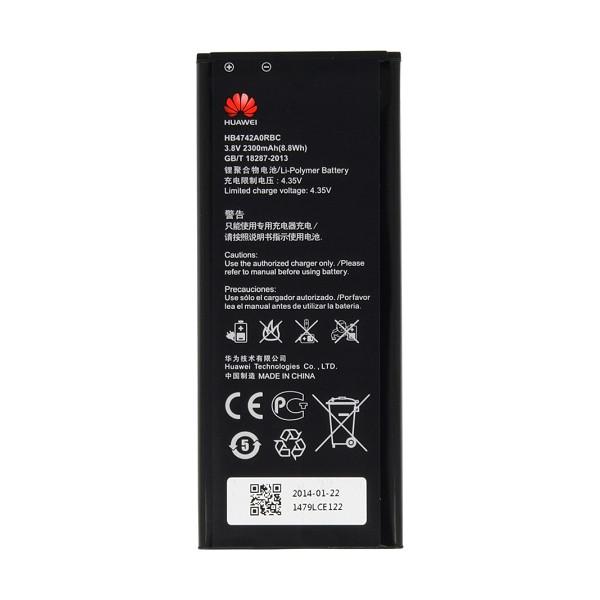 Μπαταρία Huawei HB4742A0RBC Li-Polymer 3.8V 2300mAh Original Bulk