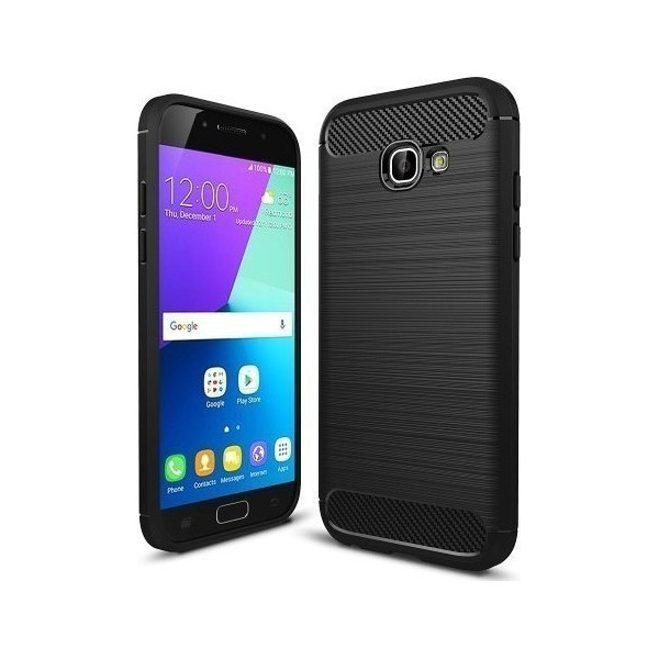 S-Case Carbon Fiber For Samsung Galaxy A520 A5 2017 Black