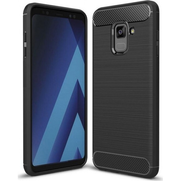 S-Case Carbon Fiber Για Samsung A6 2018