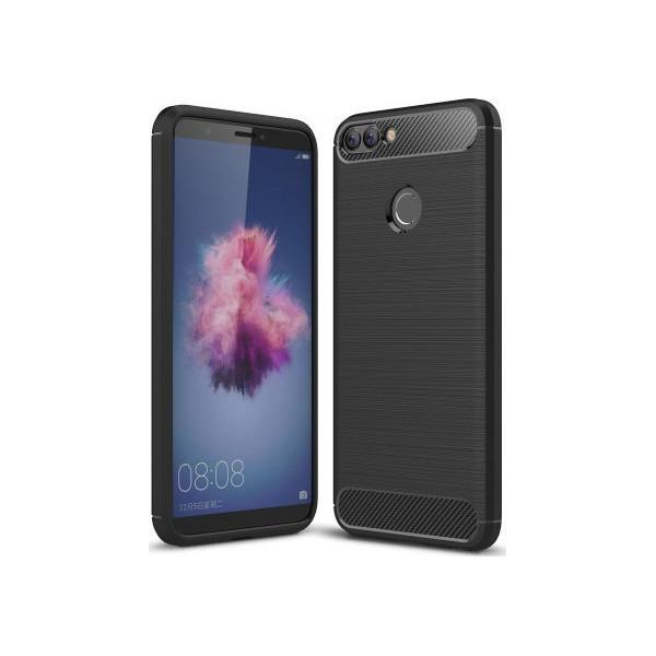 S-Case Carbon Fiber For Huawei P Smart Black