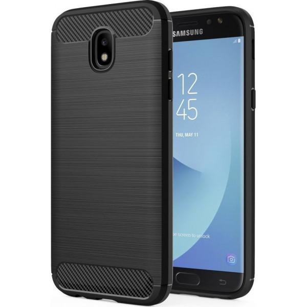 S-Case Carbon Fiber Για Samsung Galaxy J730 J7 2017 Black