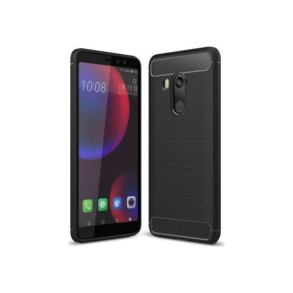 S-Case Carbon Fiber For  HTC U11 Life Black