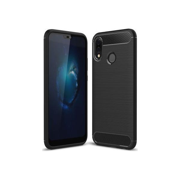 S-Case Carbon Fiber Για Huawei P20 Lite