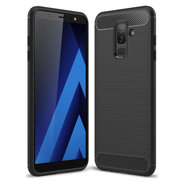 S-Case Carbon Fiber Για Samsung J810F Galaxy J8 (2018)