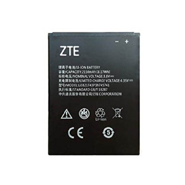 Μπαταρία ZTE Li3821T43P3h Li-Ion 3.7V 2150 mAh Original