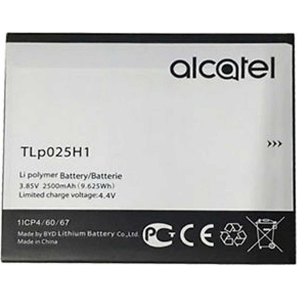 Μπαταρία Alcatel TLp025H1 Li-Ion 3.7V 2500mAh Original
