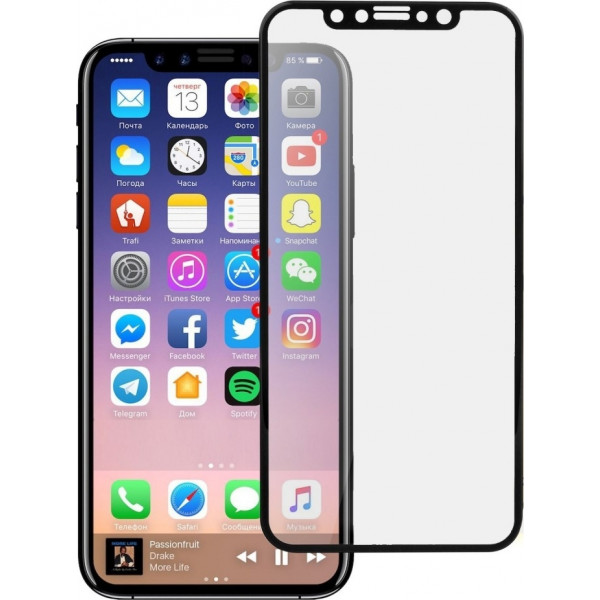 10D Tempered Glass 9H for Iphone X Full Cover