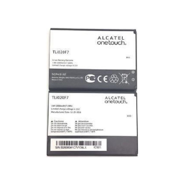 Μπαταρία Alcatel TLi020F7 Li-Ion 3.7V 2000mAh Original