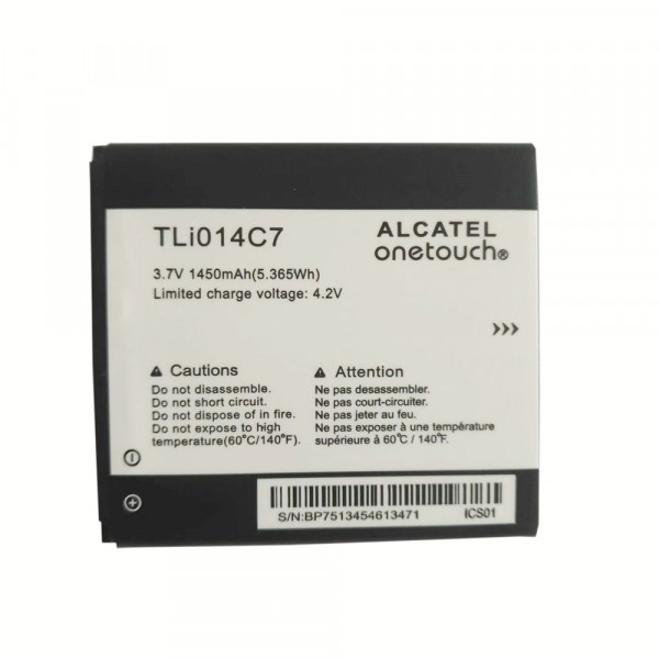 Μπαταρία Alcatel TLi014C7 Li-Ion 3.7V 1450mAh Original