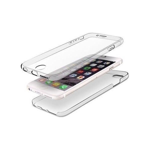 """Ultra Slim S-Case 0,3MM For Iphone 7 Plus (5,5"""") Front/Back"""