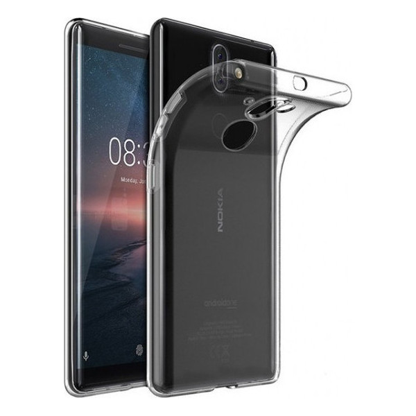 Ultra Slim S-Case 0,3MM For Nokia 8 Sirocco