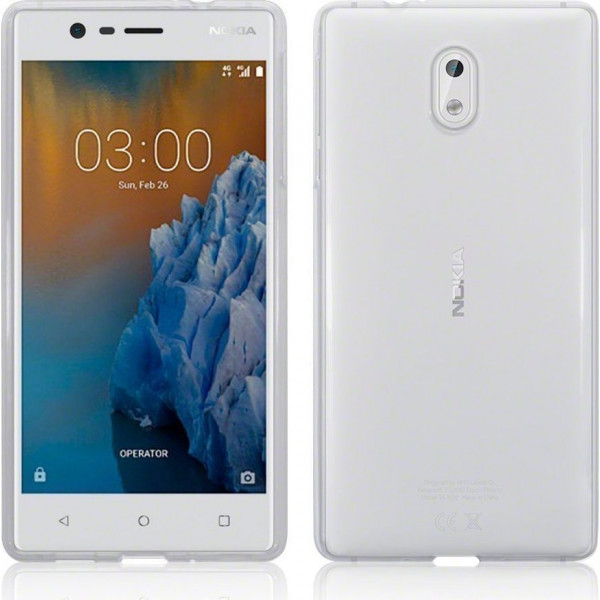 Ultra Slim S-Case 0,3MM Για Nokia 3