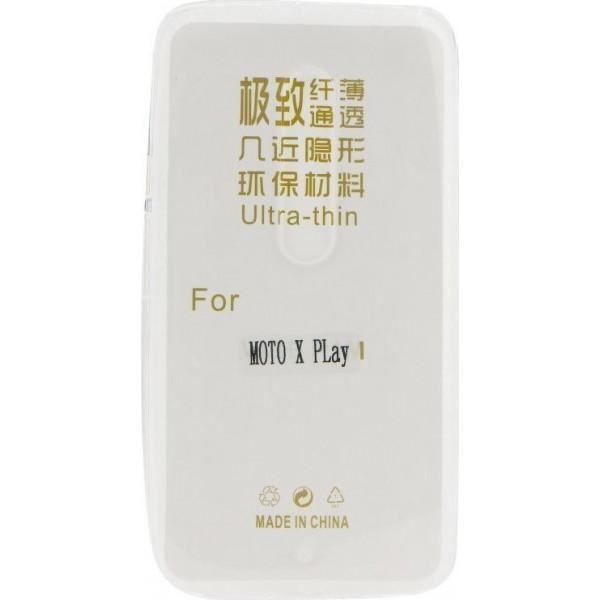 Ultra Slim S-Case 0,3MM Για Motorola Moto X Play (XT1563)