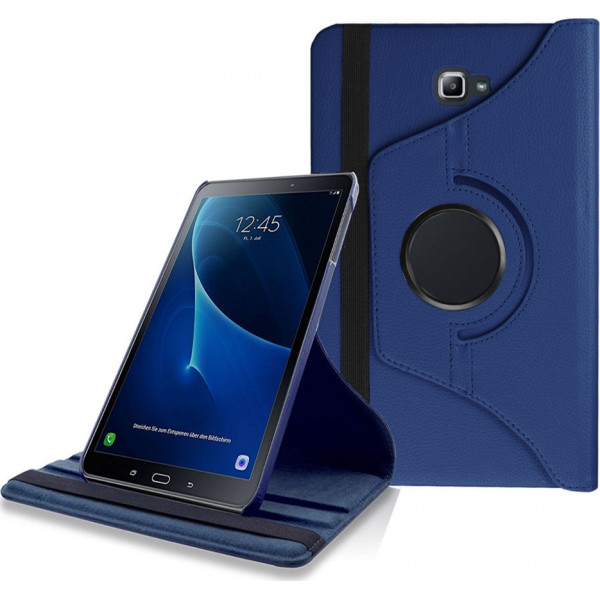 Leather Case Stand (360 degree rotating) for Samsung T825